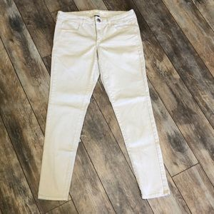 American Eagle Stretch Tan Skinny Jeggings